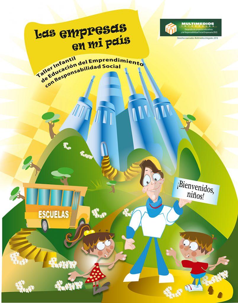 """Taller infantil de Educación del Emprendimiento con Responsabilidad Social: """"LAS EMPRESAS EN MI PAÍS""""."""